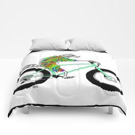 Raccoon Cruiser Comforters