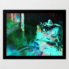 Dragon 2012 Art Print