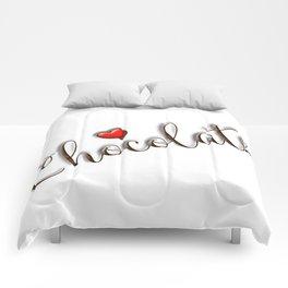 Love Chocolate Comforters