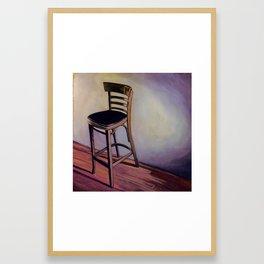 Barstool Framed Art Print