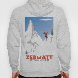 Zermatt, Valais, Switzerland Hoody