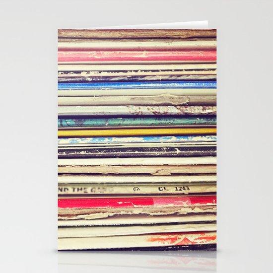 Vinyl II  Stationery Cards