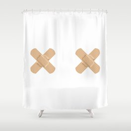 Not Your Usual Babes Shower Curtain