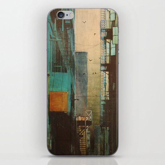 ESCAPE ROUTE iPhone & iPod Skin