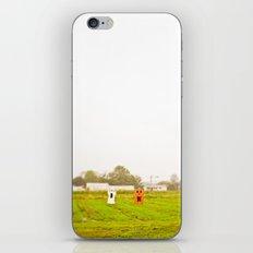 ghost field iPhone & iPod Skin