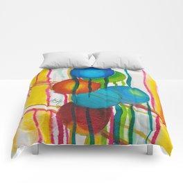 sphere garden Comforters