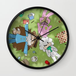 Page 124 - 'Summer' Wall Clock