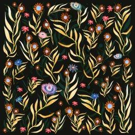 Pillow Sham - flowers garden - franciscomffonseca