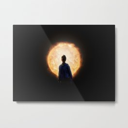 Solar deity Metal Print