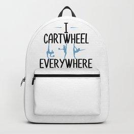 Gymnastics Cartwheel Everywhere Gymnasts Backpack