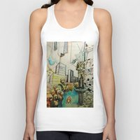 tv Tank Tops featuring TV  by Aaron M. Sutton