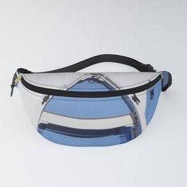 BLUE BOAT BENCH SEAT BOSCASTLE CORNWALL Fanny Pack