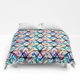 Floral exuberance Comforters