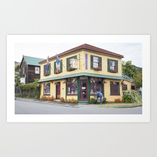 French Cottage Art Print