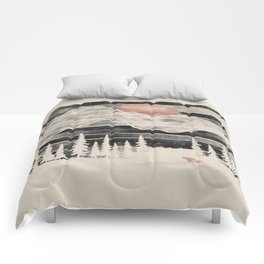 Mountain Lion at Midnight... Comforters