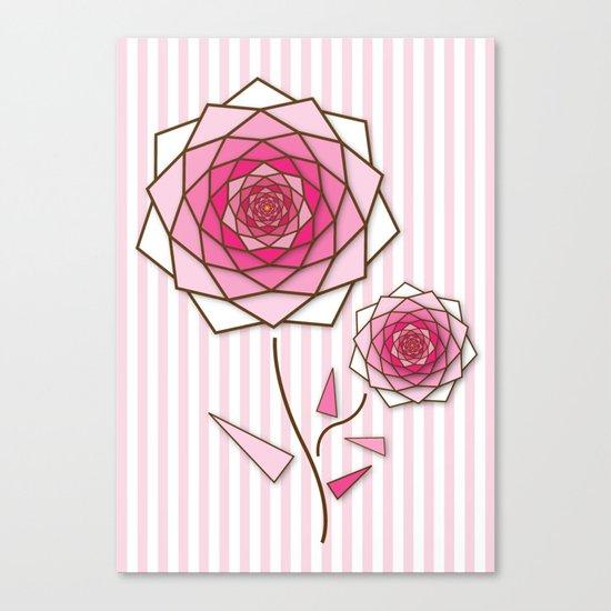 Crystal Flower 3 Canvas Print