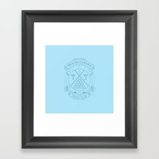 Members Only: Legitimate Businessman's Social Club Framed Art Print