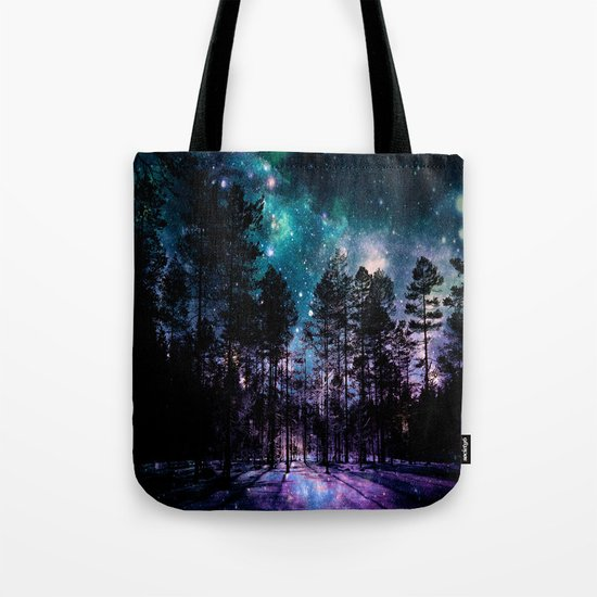 One Magical Night... (teal & purple) Tote Bag