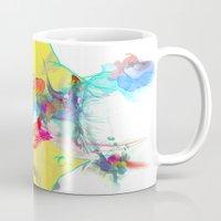archan nair Mugs featuring Whispering by Archan Nair