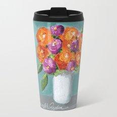 Sunny Day Bouquet Travel Mug