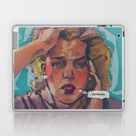 ... but i love you ... Laptop & iPad Skin