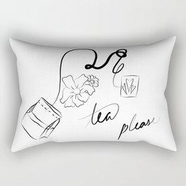 tea but better Rectangular Pillow