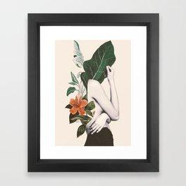 natural beauty-collage 2 Framed Art Print