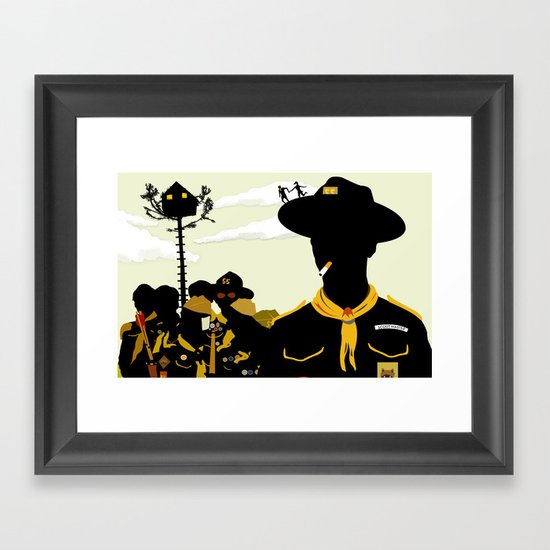 Moonrise Kingdom 2 Framed Art Print
