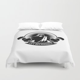 Lift Religiously Duvet Cover