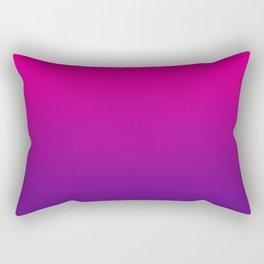 Neon Pink Purple Ultra Violet Pattern Rectangular Pillow