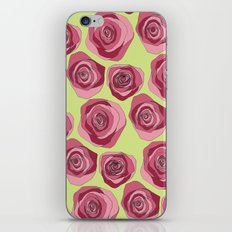 Bright Rose Pattern iPhone & iPod Skin