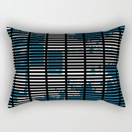 Shutters Grid Rectangular Pillow
