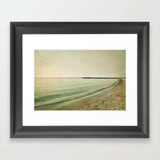 Sea of dreams Framed Art Print