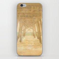 Under the Boardwalk iPhone & iPod Skin