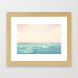 Sea Salt Air Framed Art Print