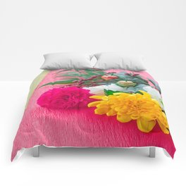 The Decoration Flower Of New Year Comforters