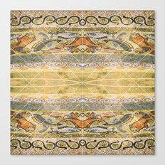Mosaic fish Canvas Print