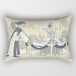 """The First """"Hello"""" Rectangular Pillow"""