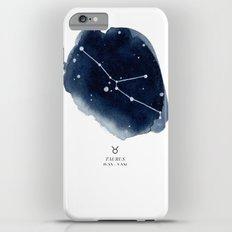 Zodiac Star Constellation - Taurus iPhone 6 Plus Slim Case
