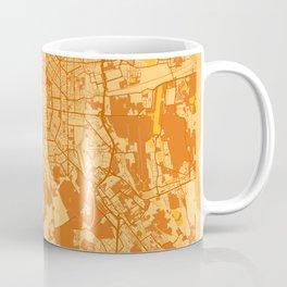 Milan - Italy Sunset City Map Coffee Mug