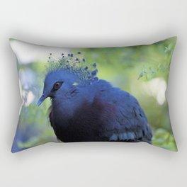 A bird in the Toronto Zoo Rectangular Pillow