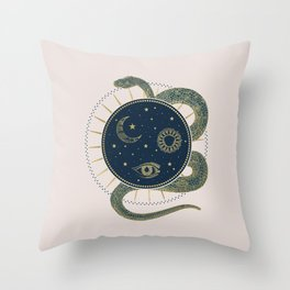 The Rebirth Throw Pillow