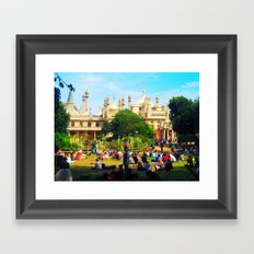 Brighton Pavilion Framed Art Print