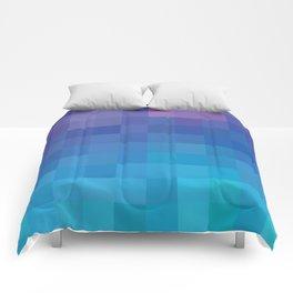 Pixel Serenity Comforters