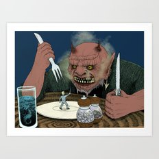 Appetizer Art Print