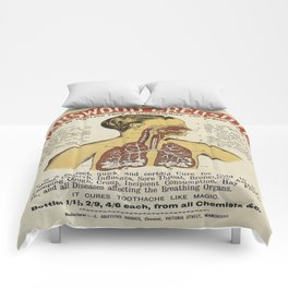 Vintage poster - Karswood Creosote Comforters