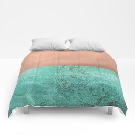 NEW EMOTIONS - ROSE & TEAL Comforters
