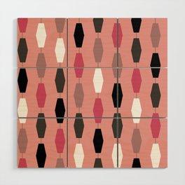 Colima - Pink Wood Wall Art