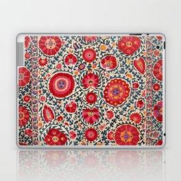 Kermina Suzani Uzbekistan Embroidery Print Laptop & iPad Skin