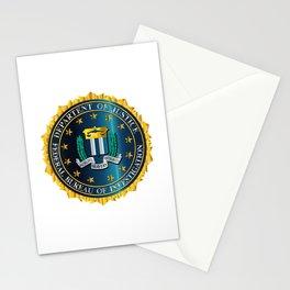 FBI Seal Mockup Stationery Cards